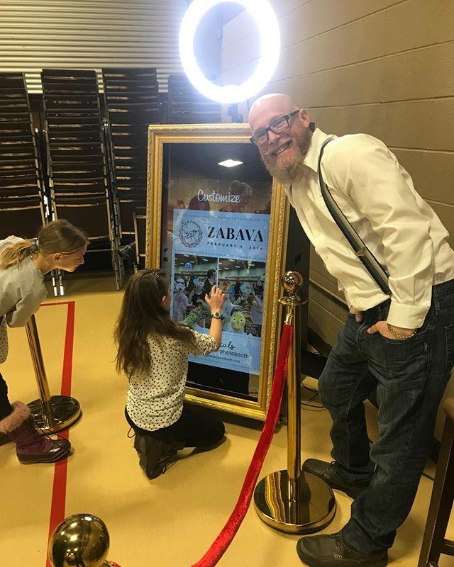Zabava photo booth here tonight with #hashtagsocials