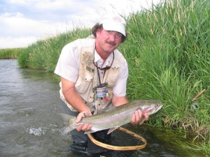 Joe is one of the nicest guys you'll ever meet, on or off the stream. His fishing knowledge and background comes from years of guiding on the Missouri and now 20 years fishing and guiding the Beaverhead, Big Hole, and Madison Rivers.