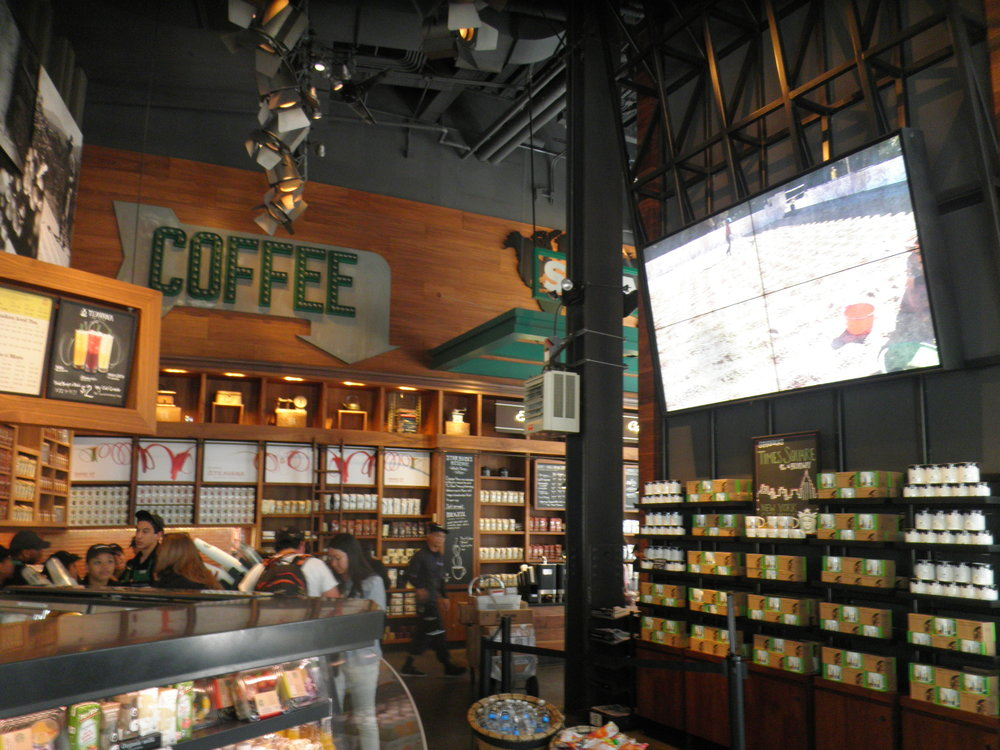 starbucks  times square