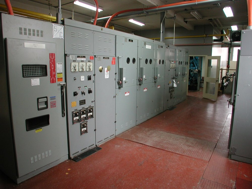 Manhattan Place Condos  switchgear