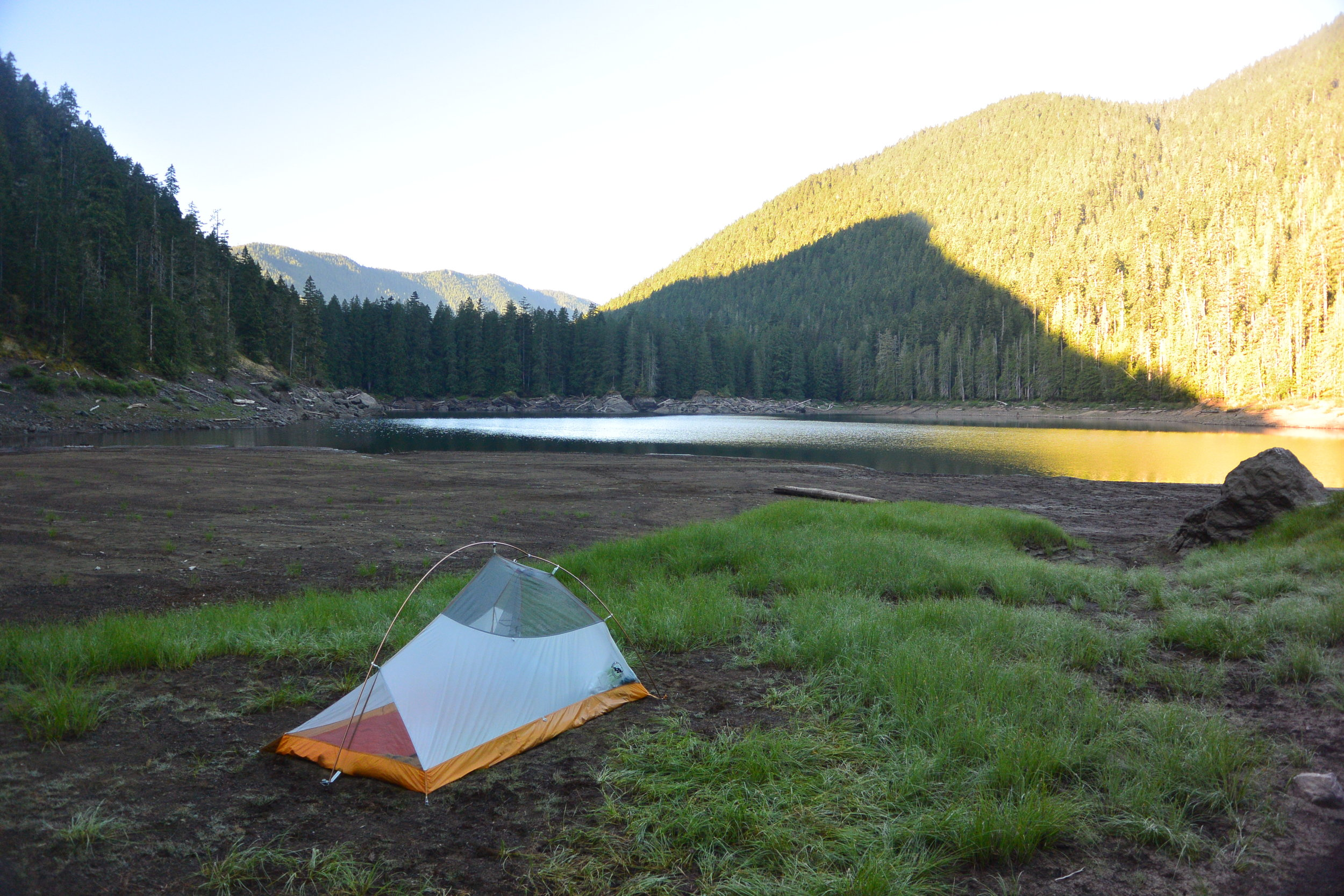 Campsite at Lena Lake