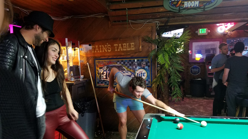 Pool Partner and Two LA Models