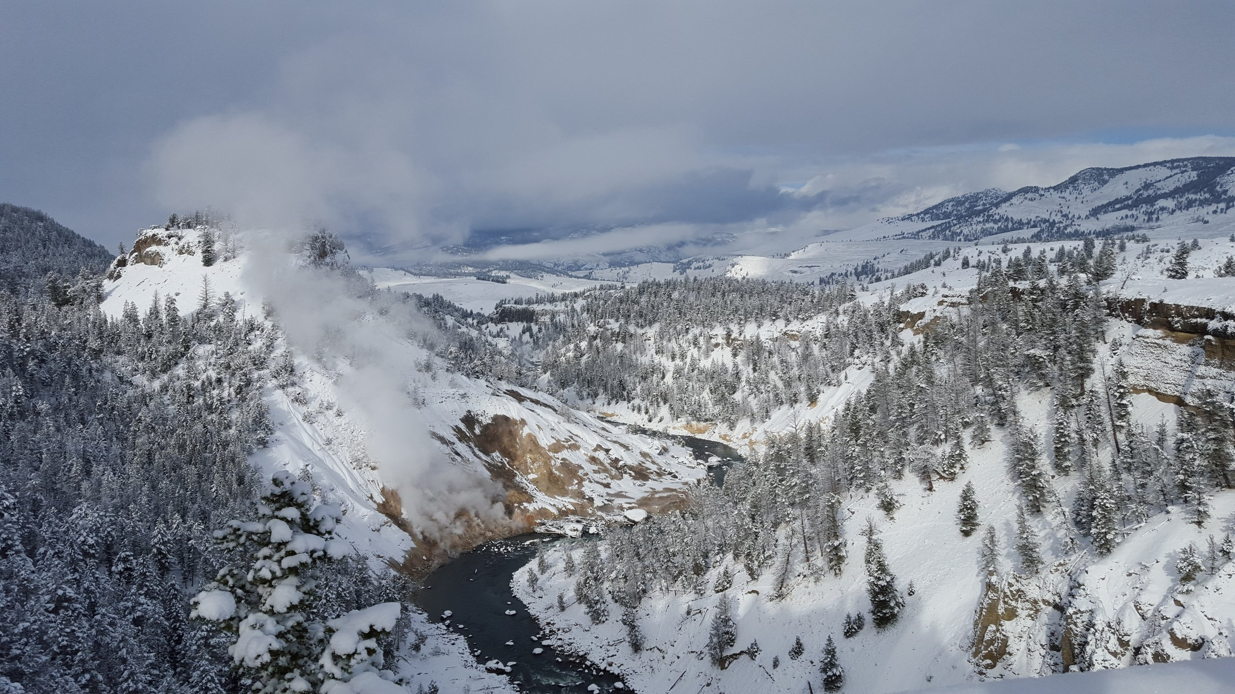 Yellowstone in Winter - Top Five National Parks