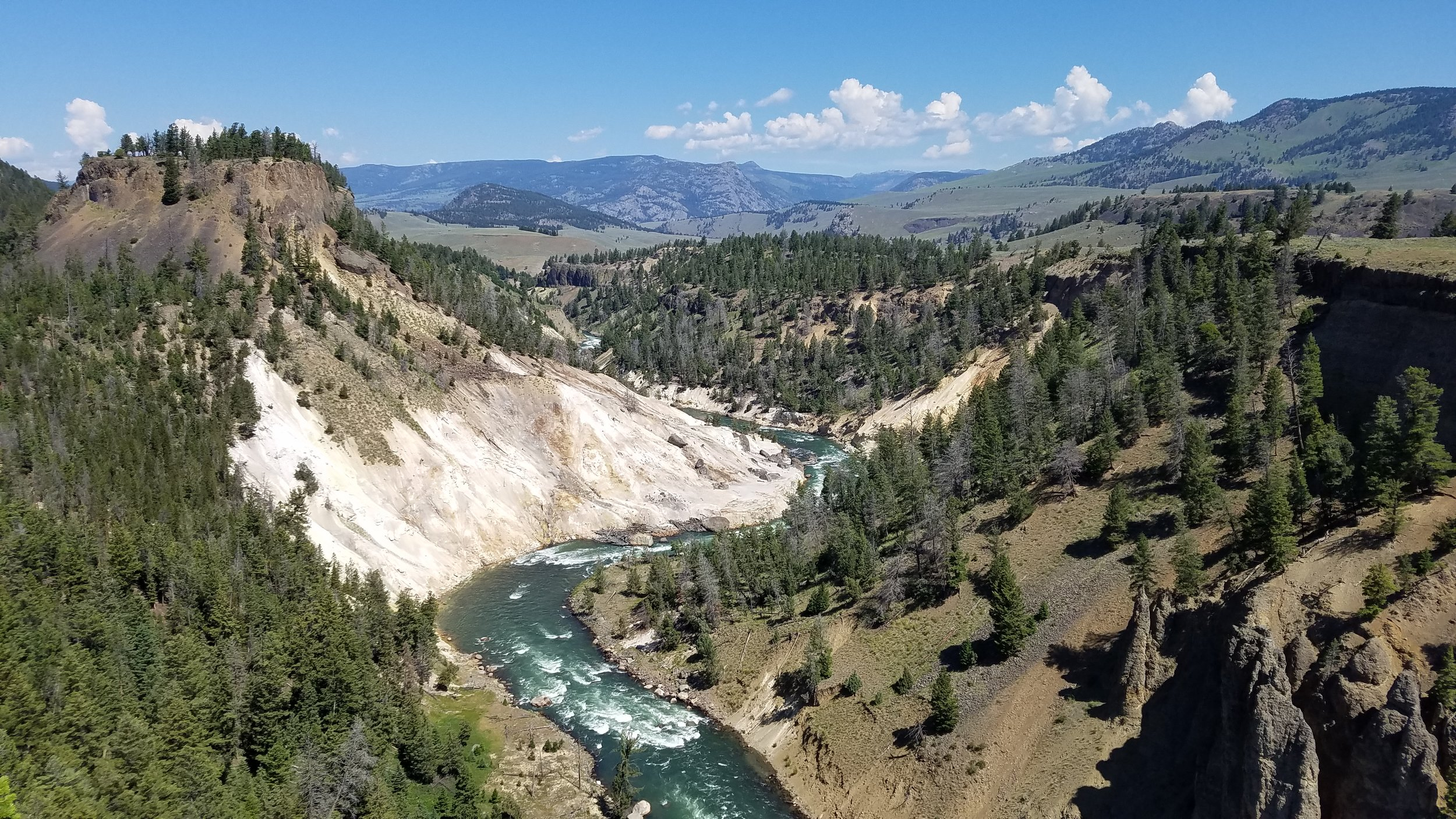 Yellowstone - Calcite Springs - Top Five National Parks