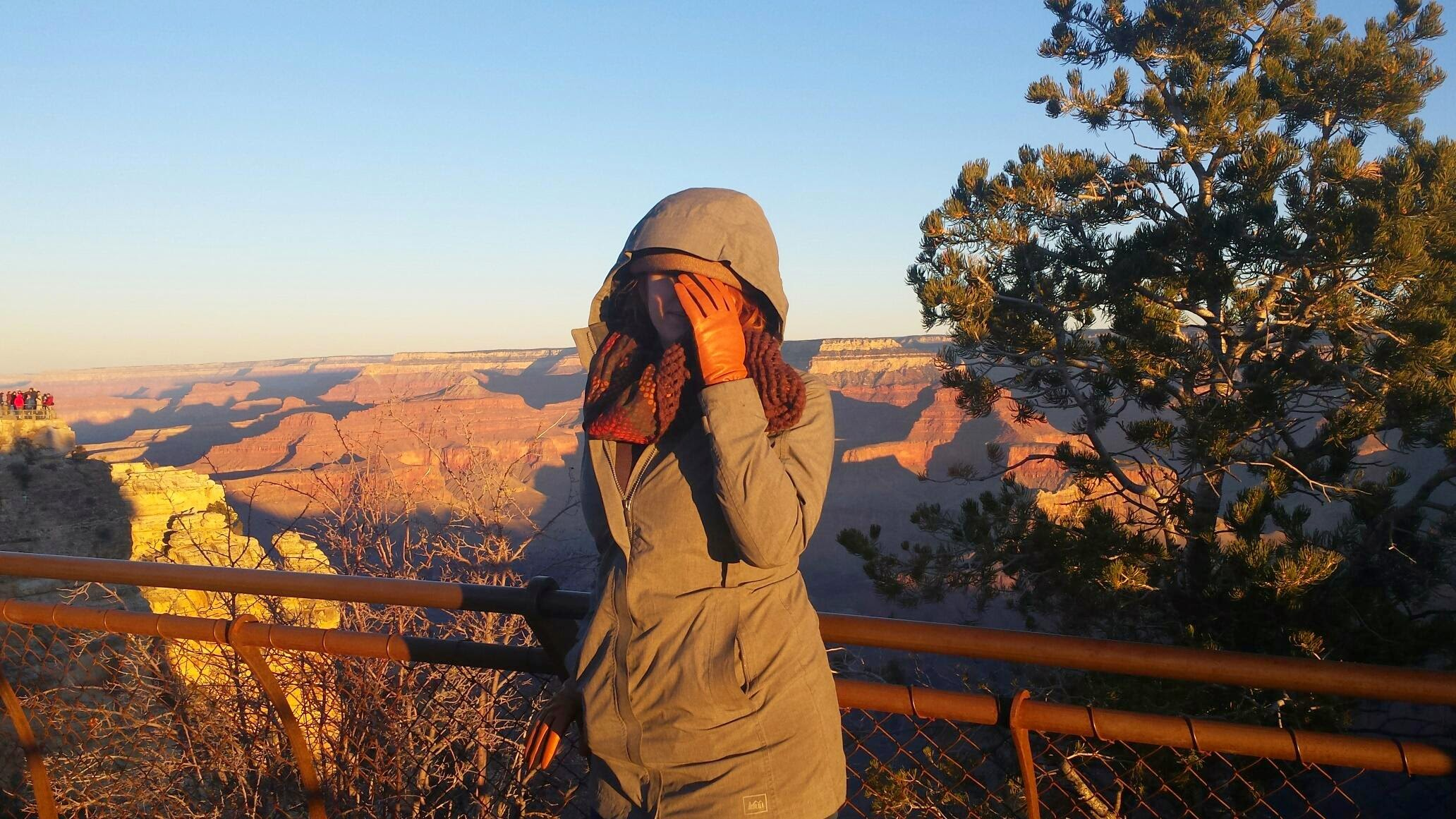 Mary at Grand Canyon - Top Five National Parks