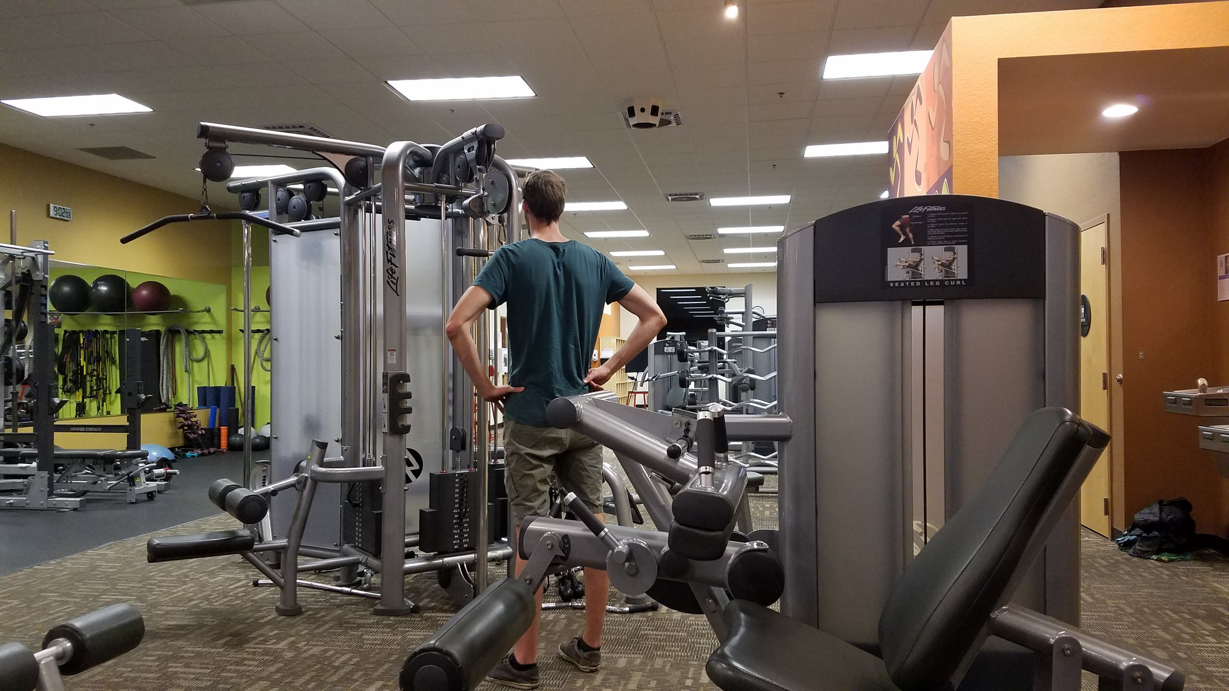 Anytime Fitness Travel Hack
