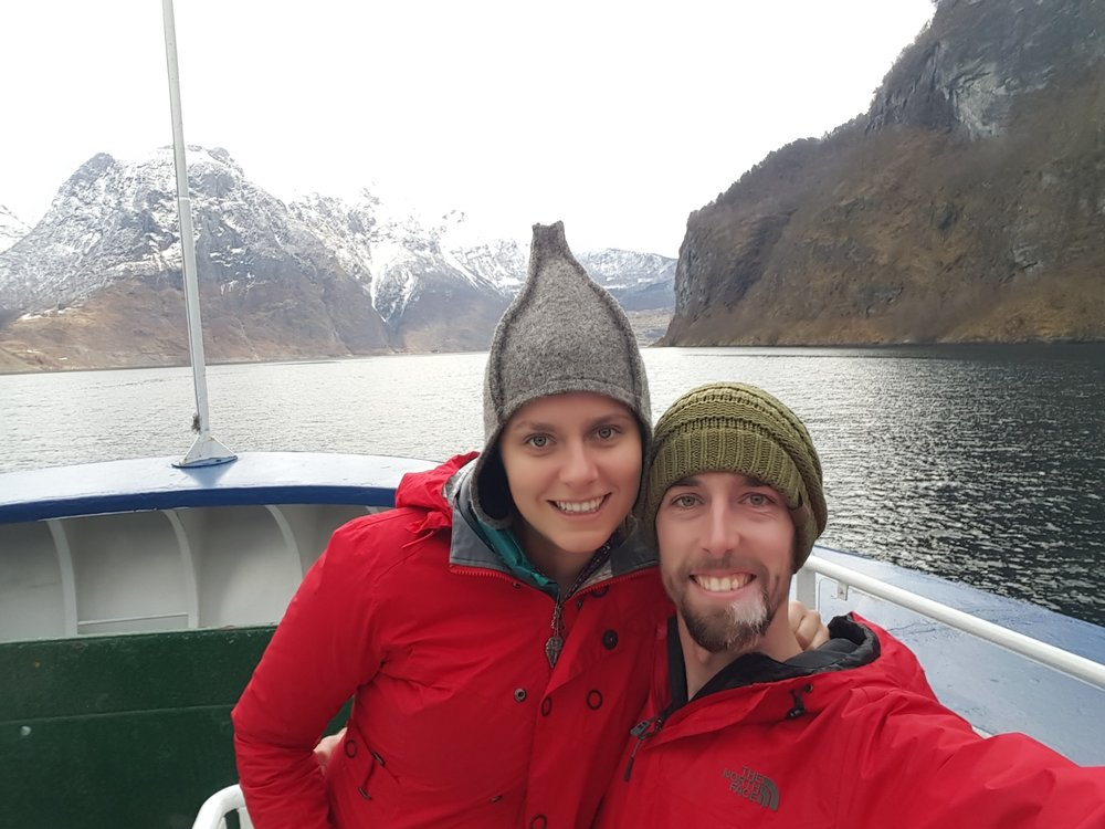 Favorite moments of 2016 - Mary and Llew in Norway