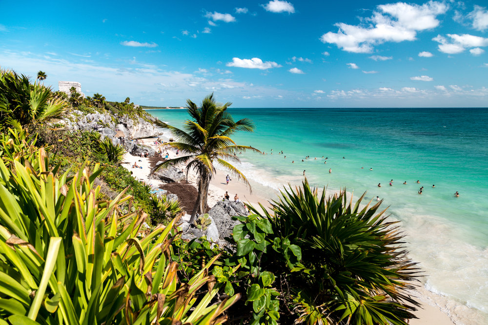 The ocean-view Tulum Ruins