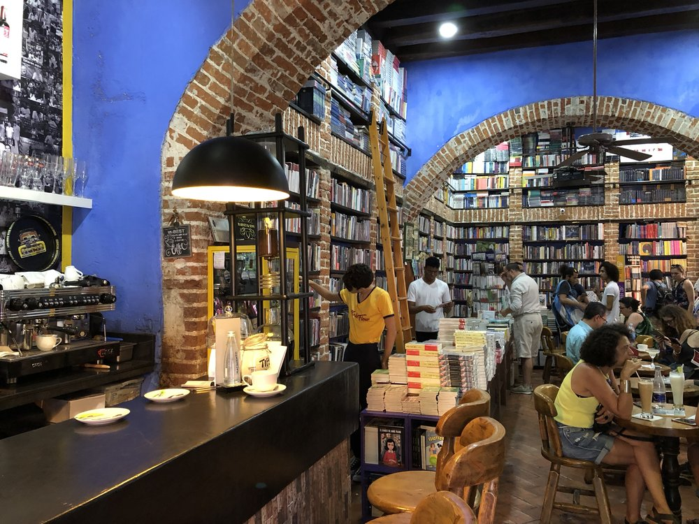 book and coffee shop