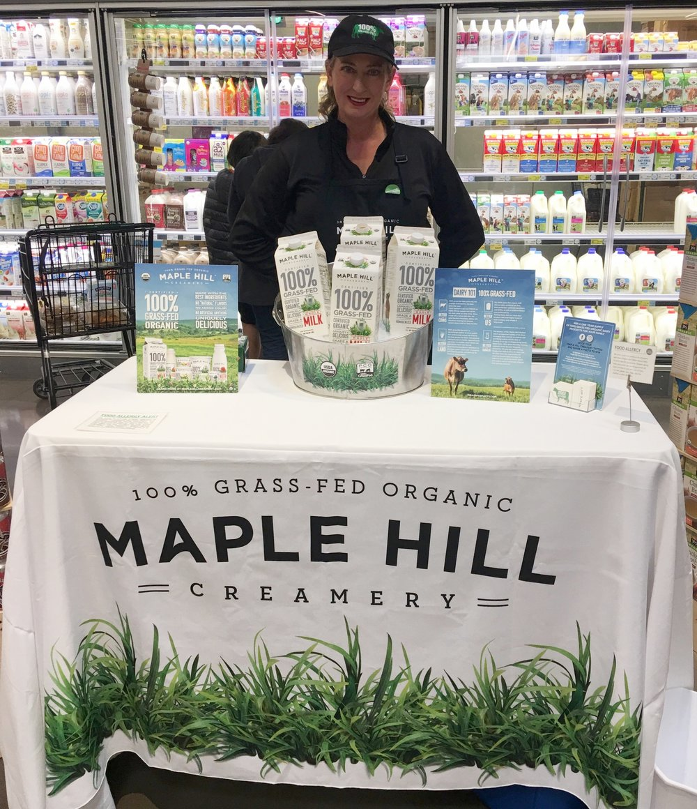 Our demos provide brands with the support they need to launch successfully! And expanding is easy with our national network of brand ambassadors. Check out how we put  Maple Hill  in the spotlight during their national launch!