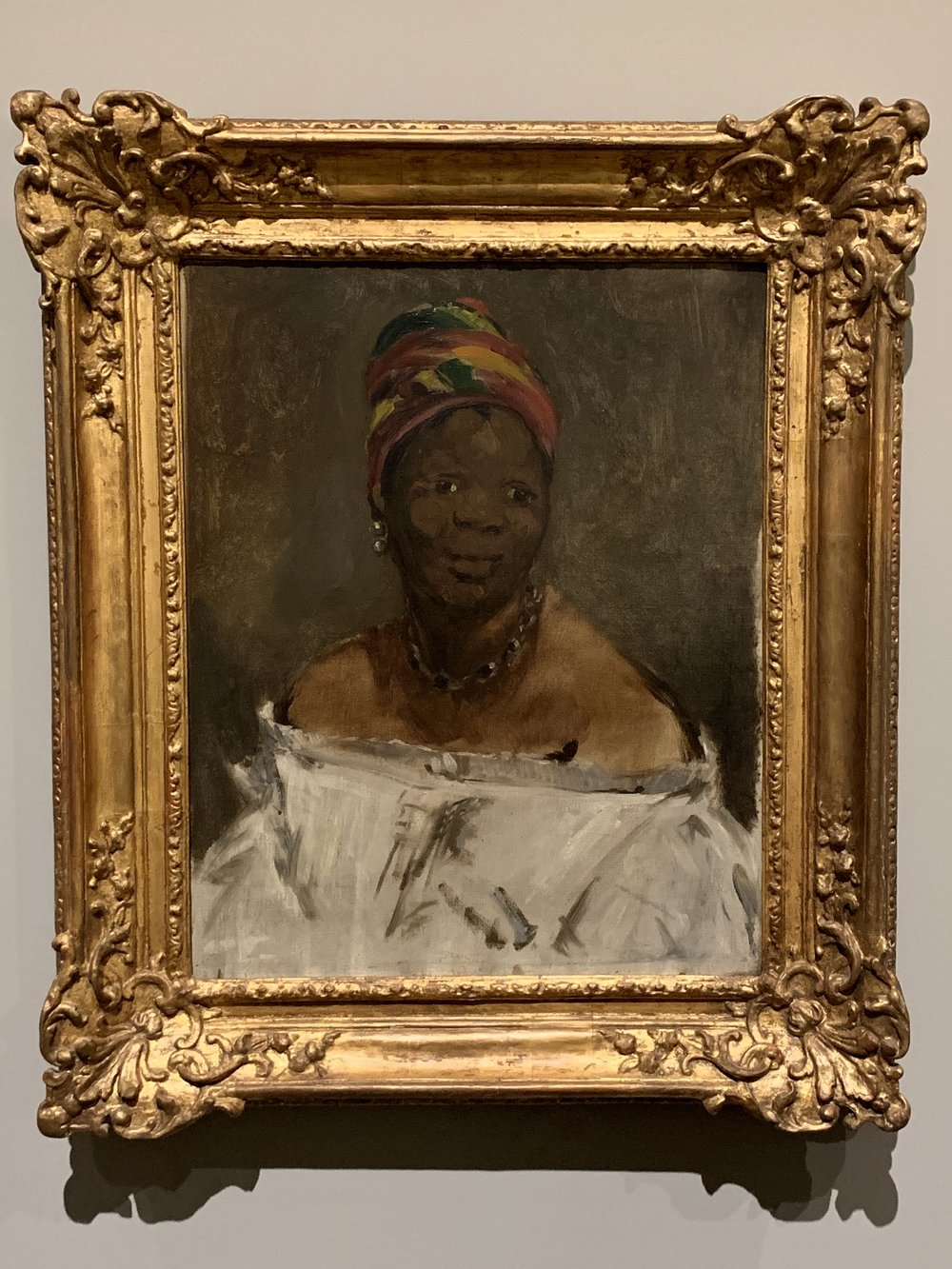 Laure, the maid in Olympia, gets her own portrait. -