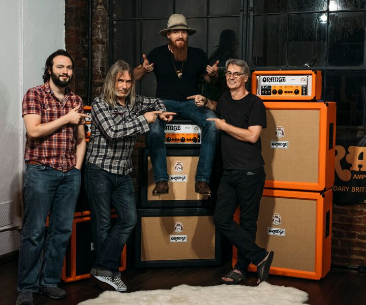 Orange Amplifier Showroom - By appointment only.Location: 1310-105