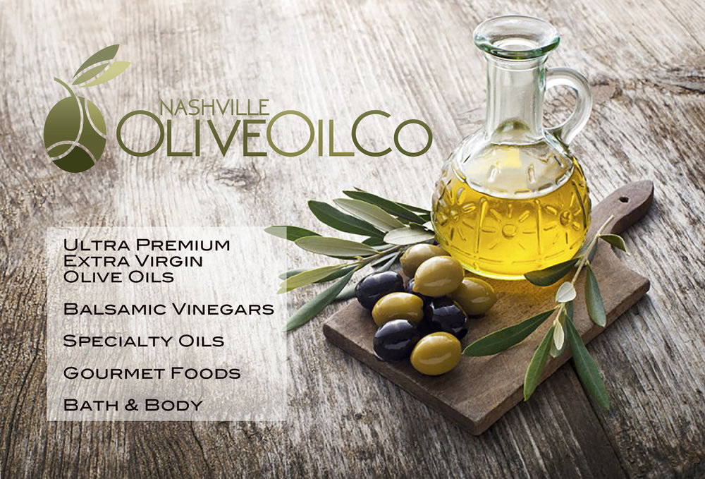 Nashville Olive Oil Company LLC - At Nashville Olive Oil Company, you'll find a healthy selection of ultra premium extra virgin olive oils, aged balsamics, pantry essentials and savory gourmet items for all your creative cooking needs.Location: 1200-23