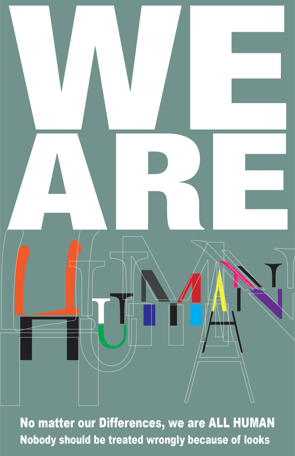 We are Human by Joshua Gauthier