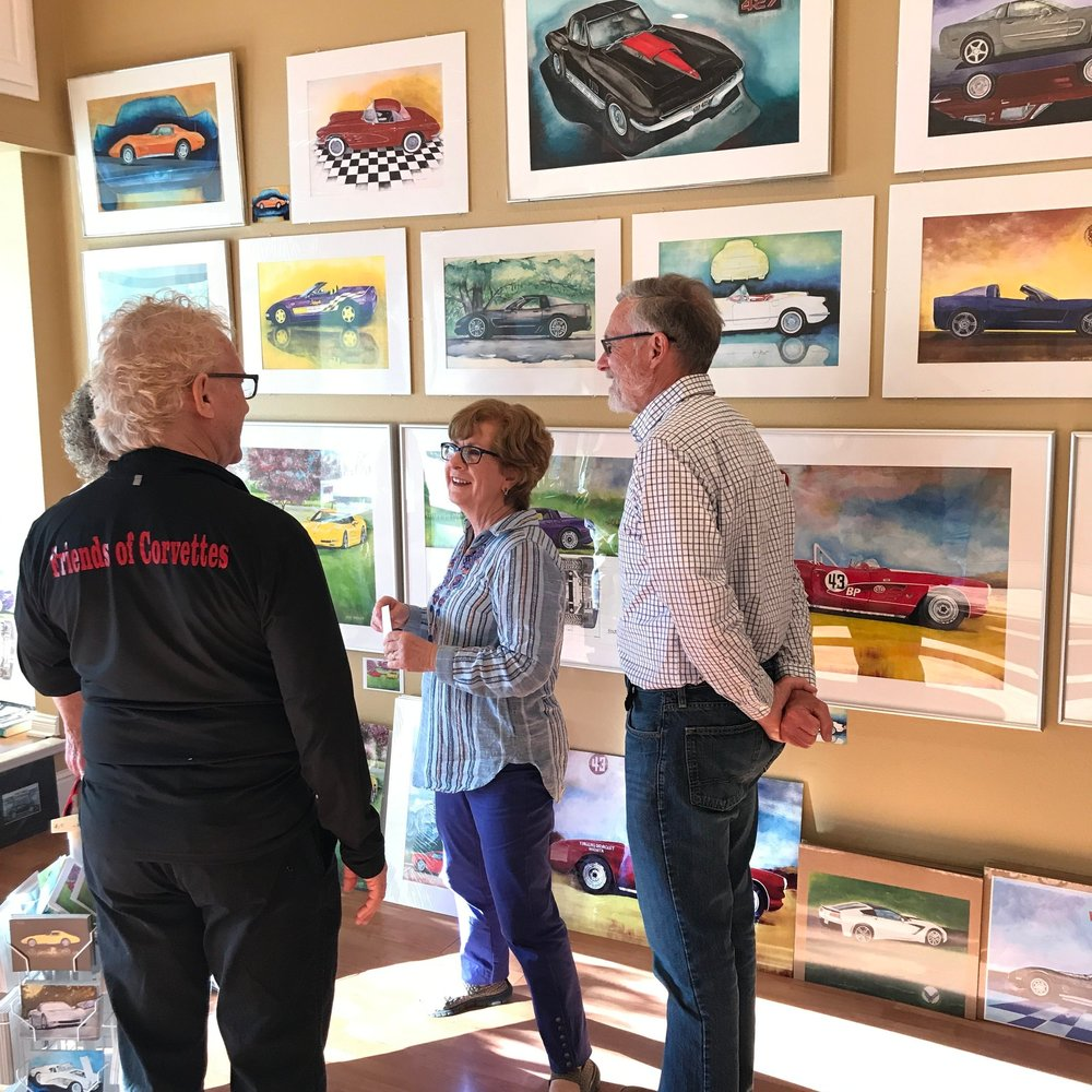 2018 Art Hop @ Jerry Speight's Gallery, 18th Flamingo