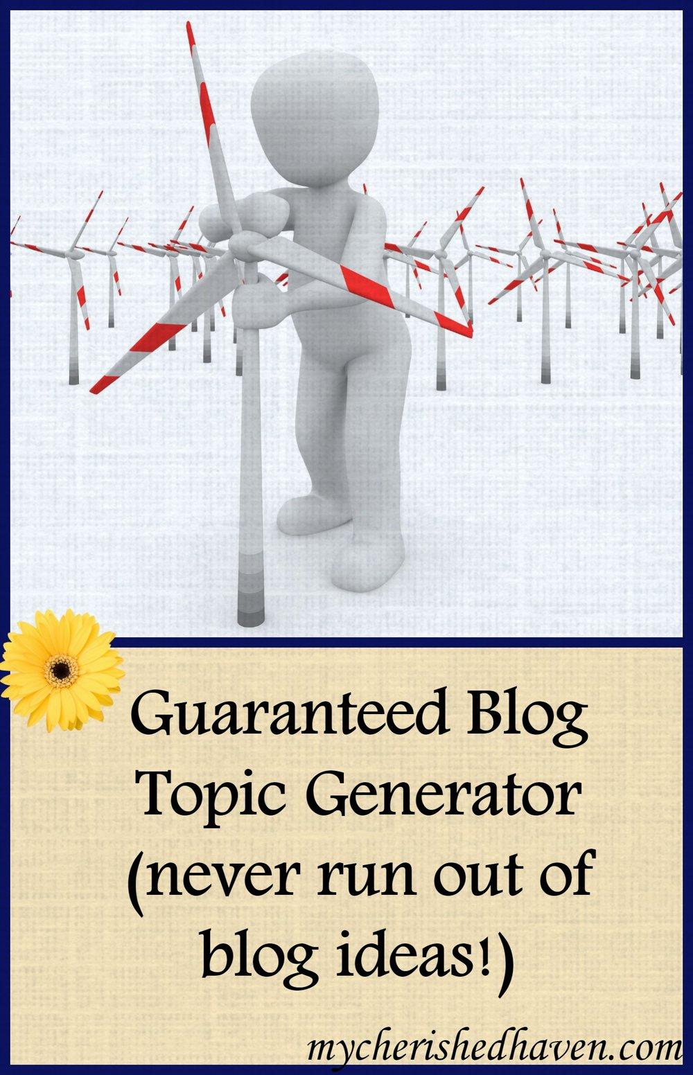 blogtopicgenerator