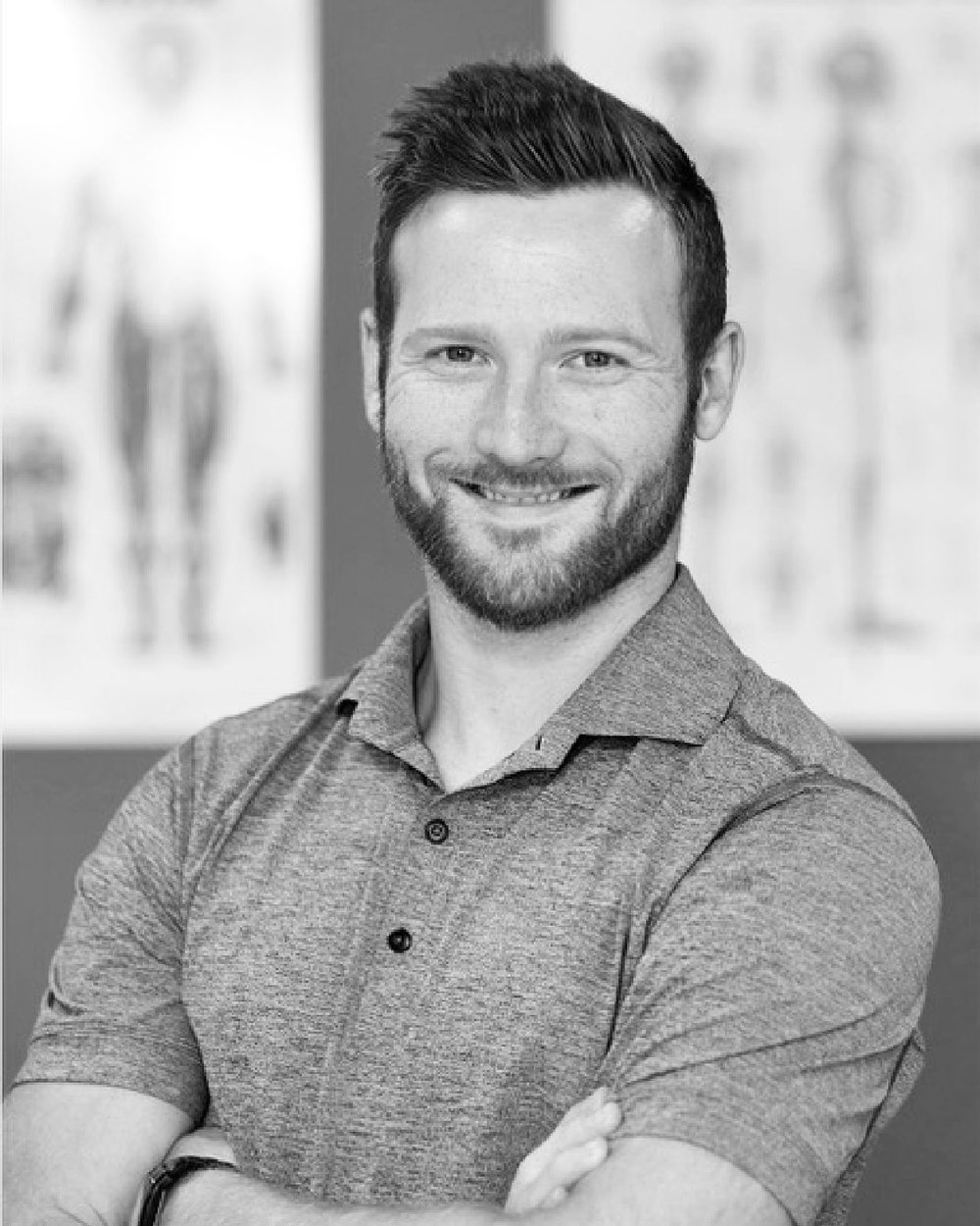Dr. Taylor Tuff - Dr. Taylor Tuff received his Honours Bachelor of Science degree from McMaster University and subsequently earned his Doctor of Chiropractic degree from the Canadian Memorial Chiropractic College (CMCC). He became interested in chiropractic and physical medicine from his experience as an athlete. During his youth, Dr. Tuff enjoyed playing hockey, football, and rugby but spent most of his extracurricular time as a competitive gymnast. Dr. Tuff uses a patient-centred, evidence-based approach to care, combining chiropractic techniques, contemporary electro-acupuncture, myofascial release therapy, and rehabilitative exercise. He strongly believes that an integrated model of healthcare is essential to optimizing the health and well-being within communities.