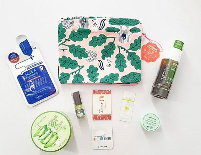 Thank you for the review and lovely shot of our August Island Escape Box @lovejapanmag! Featuring products from @neogen_official @naturerepublic_kr @uebaesou @innisfreeofficial @mediheal_official @oohlala1537