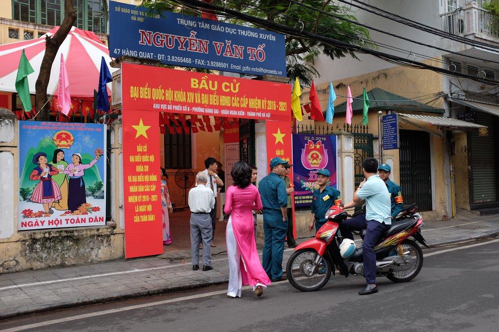 Elections Hanoi, Vietnam 22 May 2016