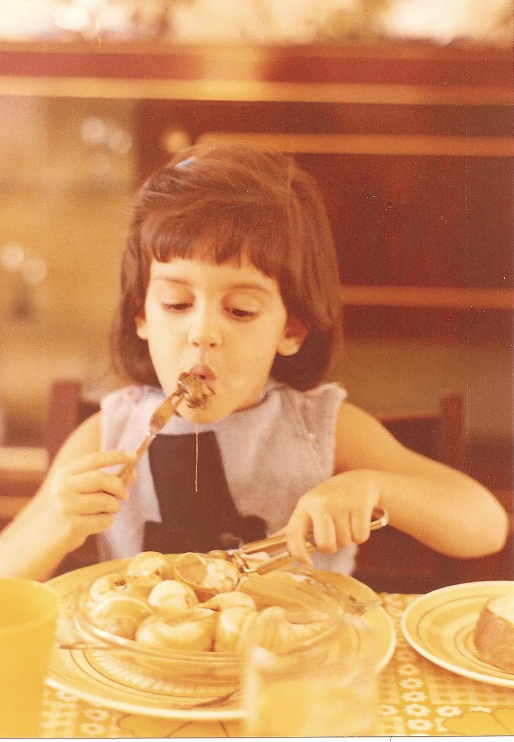 Escargot at an early age