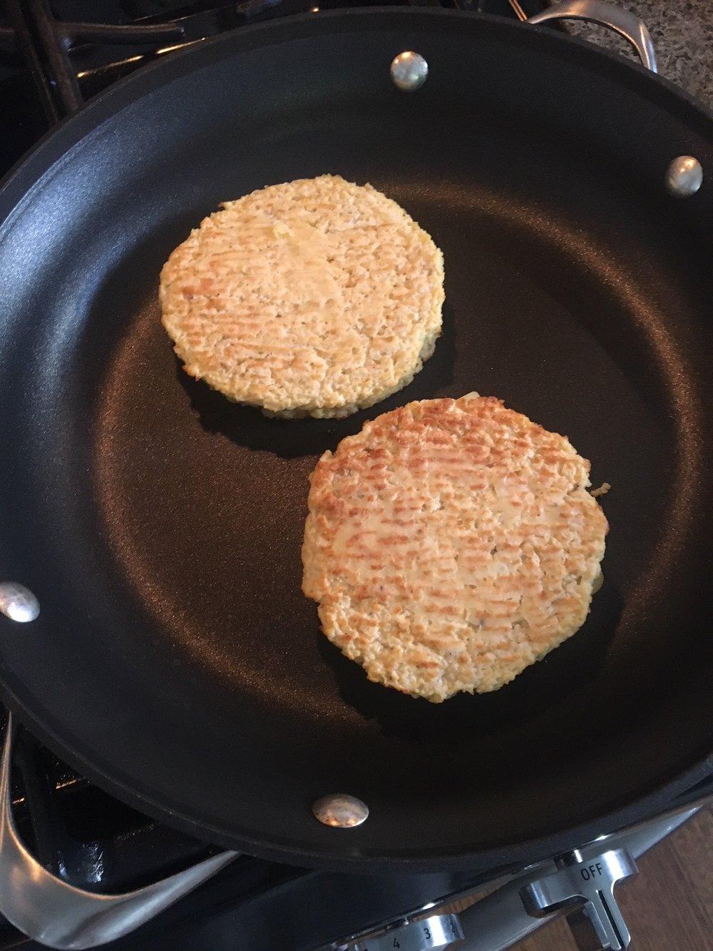 frying cauliflower bread.jpg