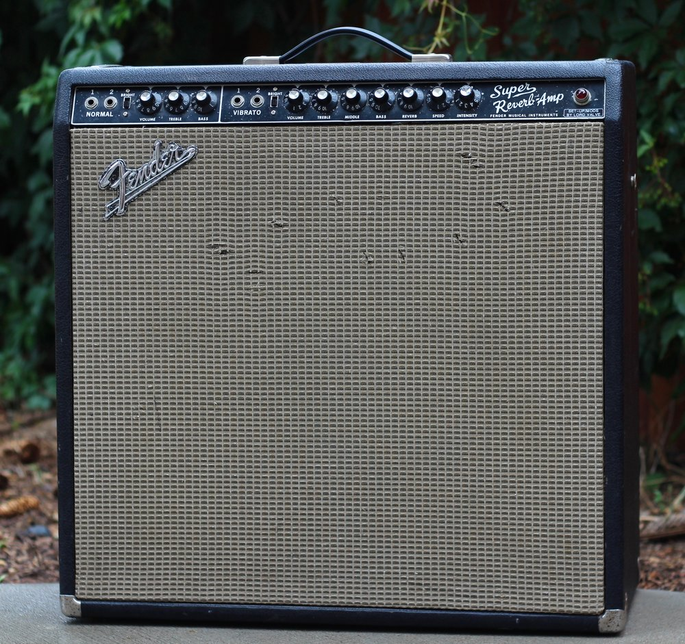 "1966 Fender ""Super Reverb"" Amp   (Lord Valve Modified)"