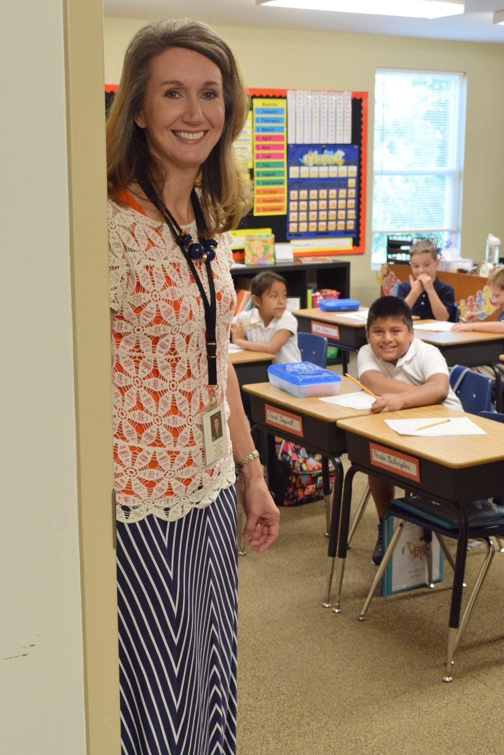 GCA 2nd Grade First Day School.JPG