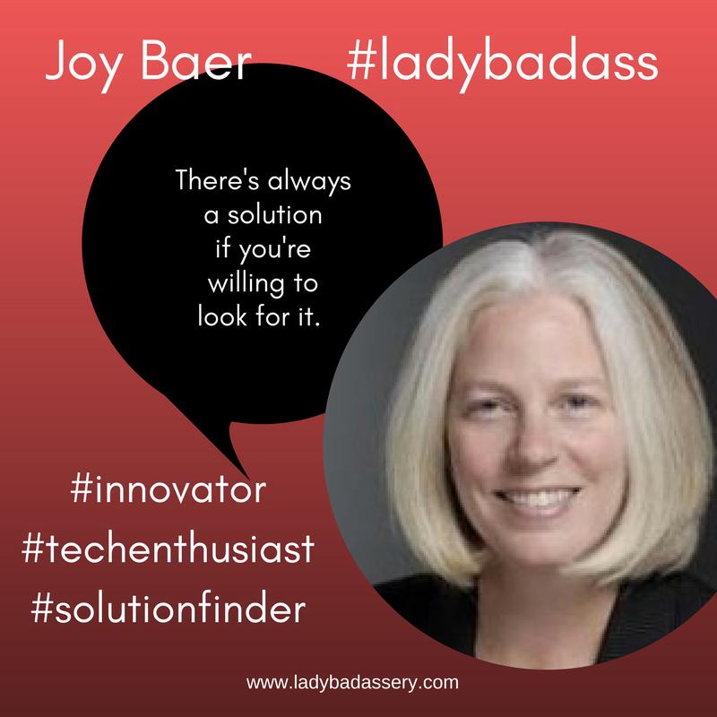 Joy Baer, President Strata & #ladybadass