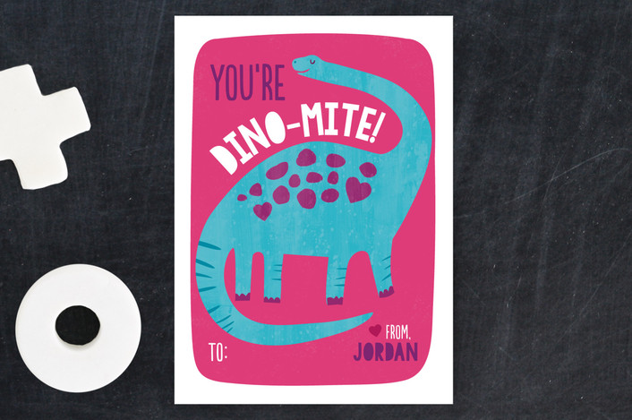 DINO VALENTINE CARDS! PURCHASE ON MINTED.COM HERE!