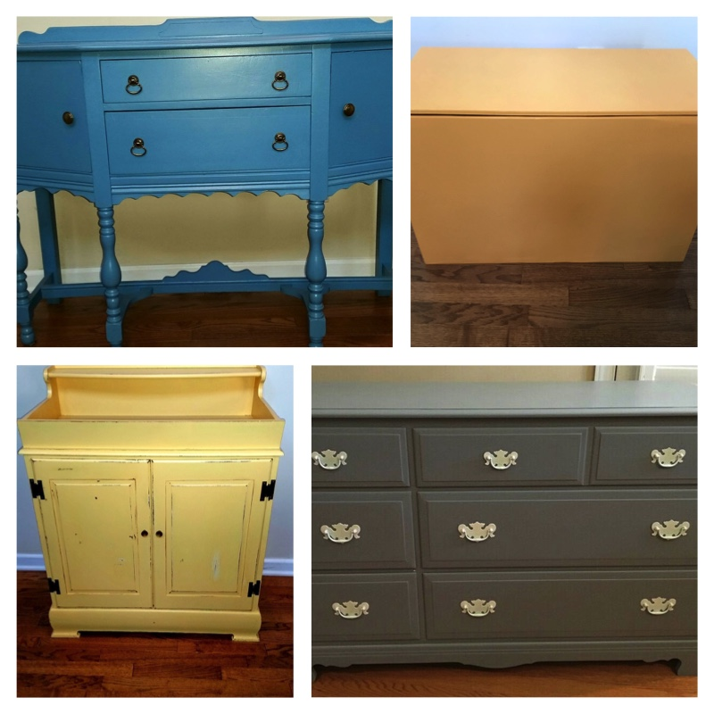 Erin Kiser ‎  to   The Browsing Butterfly   Sue, can't thank you enough for all the amazing work you have done on our family pieces. We appreciate all the guidance and care. From the toy box, buffet, dry sink and dresser they are all beautiful.