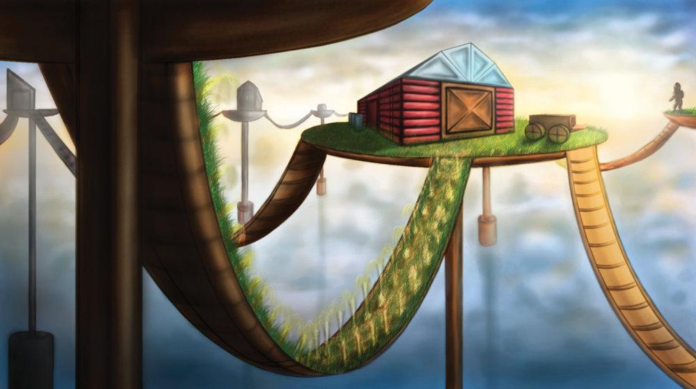 Post Apocalpytic Farm - final render