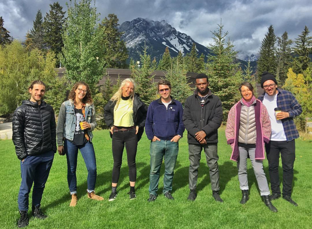 Currently on a musicians residency at the Banff Centre for Arts & Creativity. Putting together some exciting new material - stay tuned…