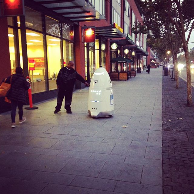 Wow, all I have to say is wow. Robot security guards in SF.