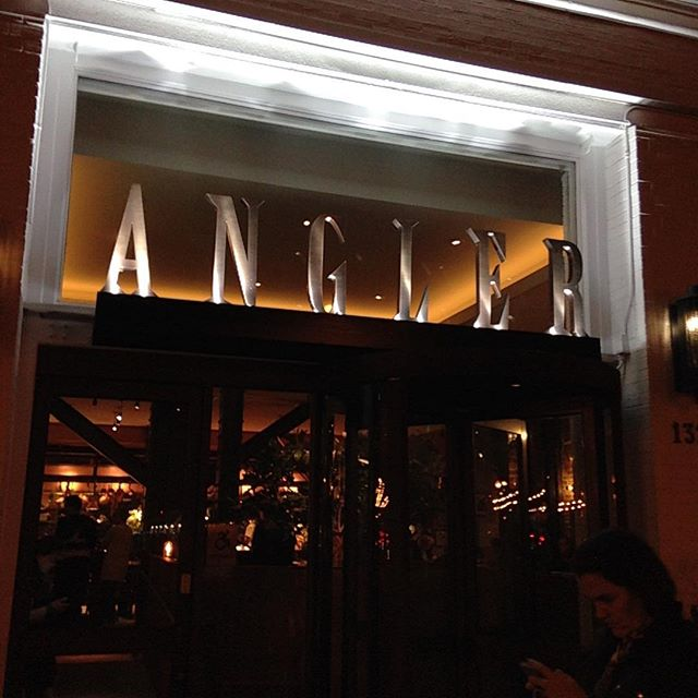 ANGLER: great food, small portions. Not for vegans (open kitchen, rabbit on menu). Best White Russian on the planet. Also, robot toilets from Japan. By the ferry building SF.