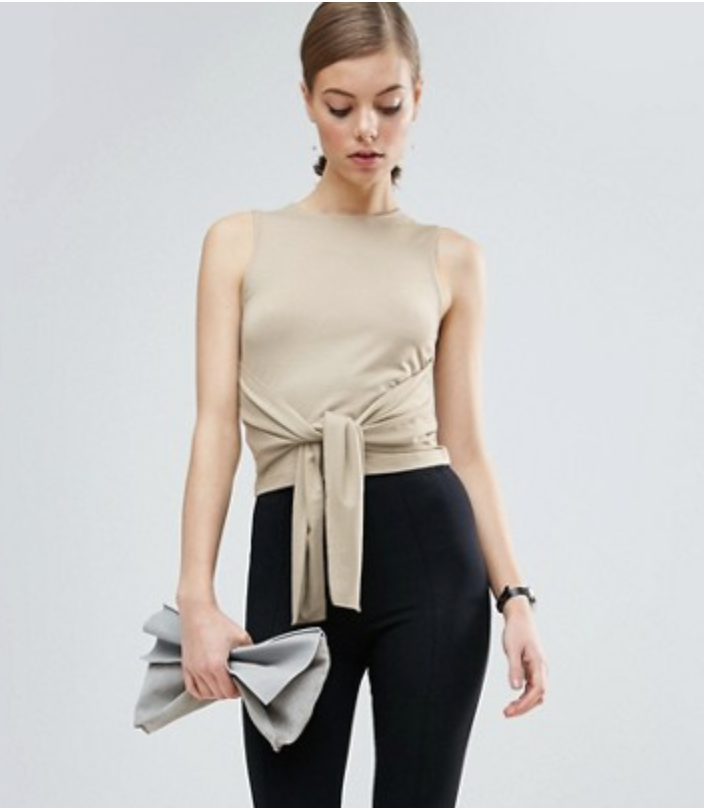 ASOS Top With Tie $18.50