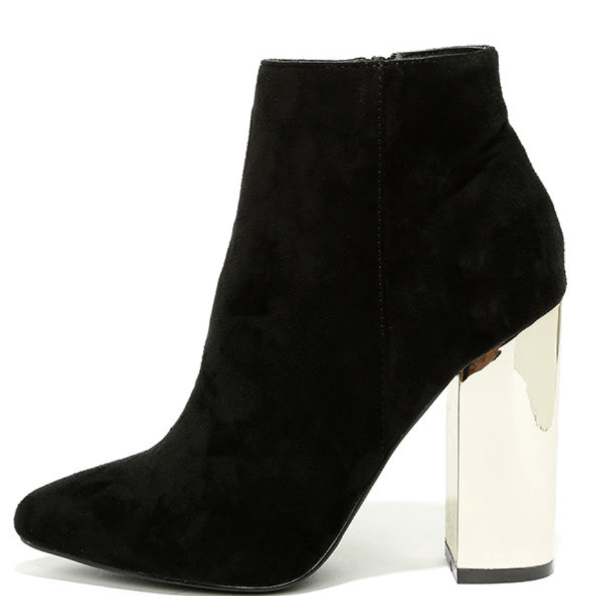 Lulus Ankle Booties $42.00