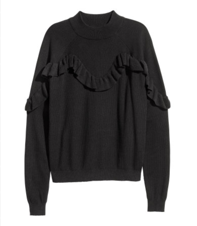 H&M Knit Sweater: $29.99