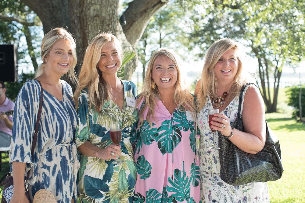Jayne of  Recovery Love & Care ; Katie of  Mylk Bar ; Erin of  Pinckney Palm  ; Ali of  Fetes de Fleurs