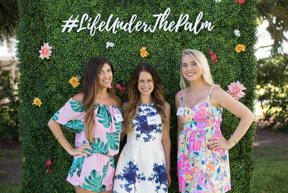 Kaylan of  Kaylan Sells Charleston  ;Sarah of  Hello Darling  ; Jamie of  Charleston Blonde