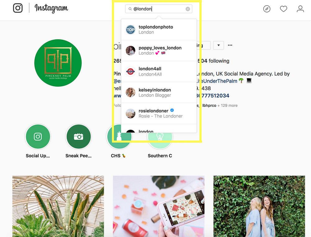 @ Tagging Instagram