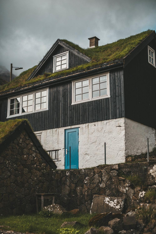 in the quaint town of bøur