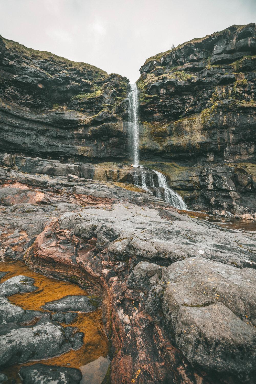 waterfall in mikladur