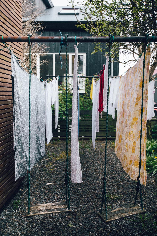 unlike washing machines, driers are seldom found