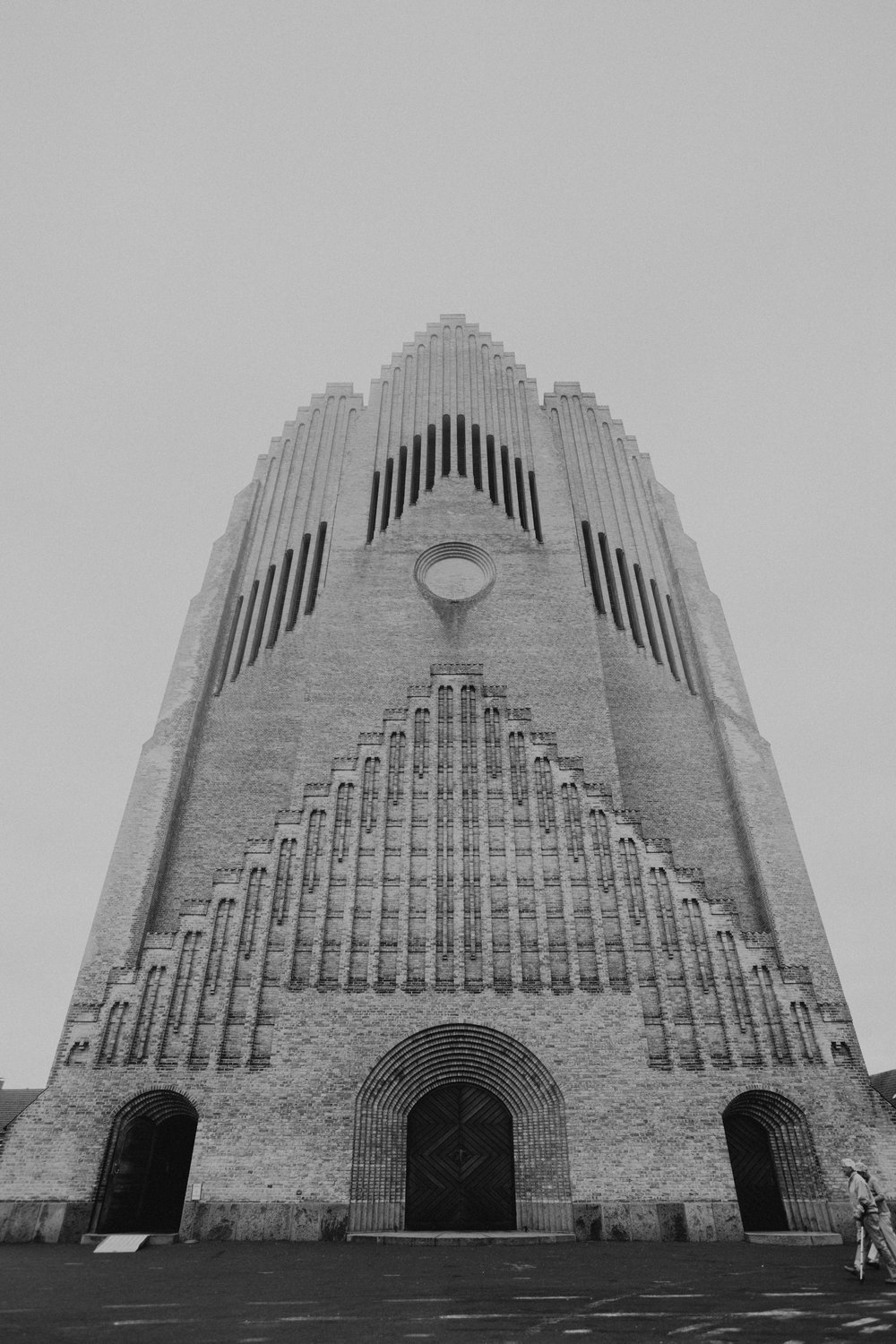 making up for not seeing this architectural masterpiece last time around. grundtvig's church
