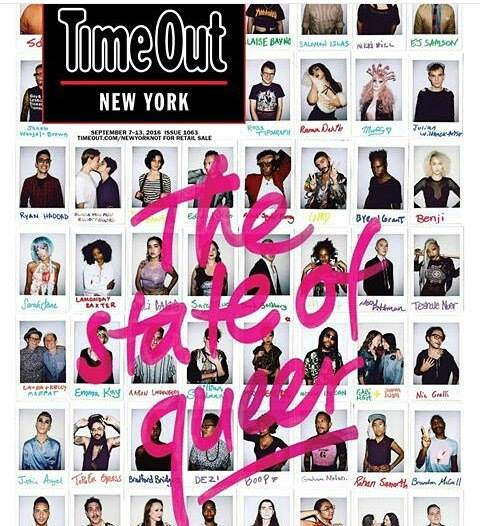 NYGTV X TIME OUT NEW YORK - Time Out New York reached out to queer New York, inviting NYGTV's own Boop to be photographed in their Times Square office. READ MORE HERE
