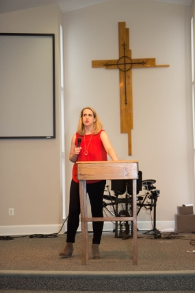Elizabeth is the Pastor of The Palisades Community Church in Washington, D.C.