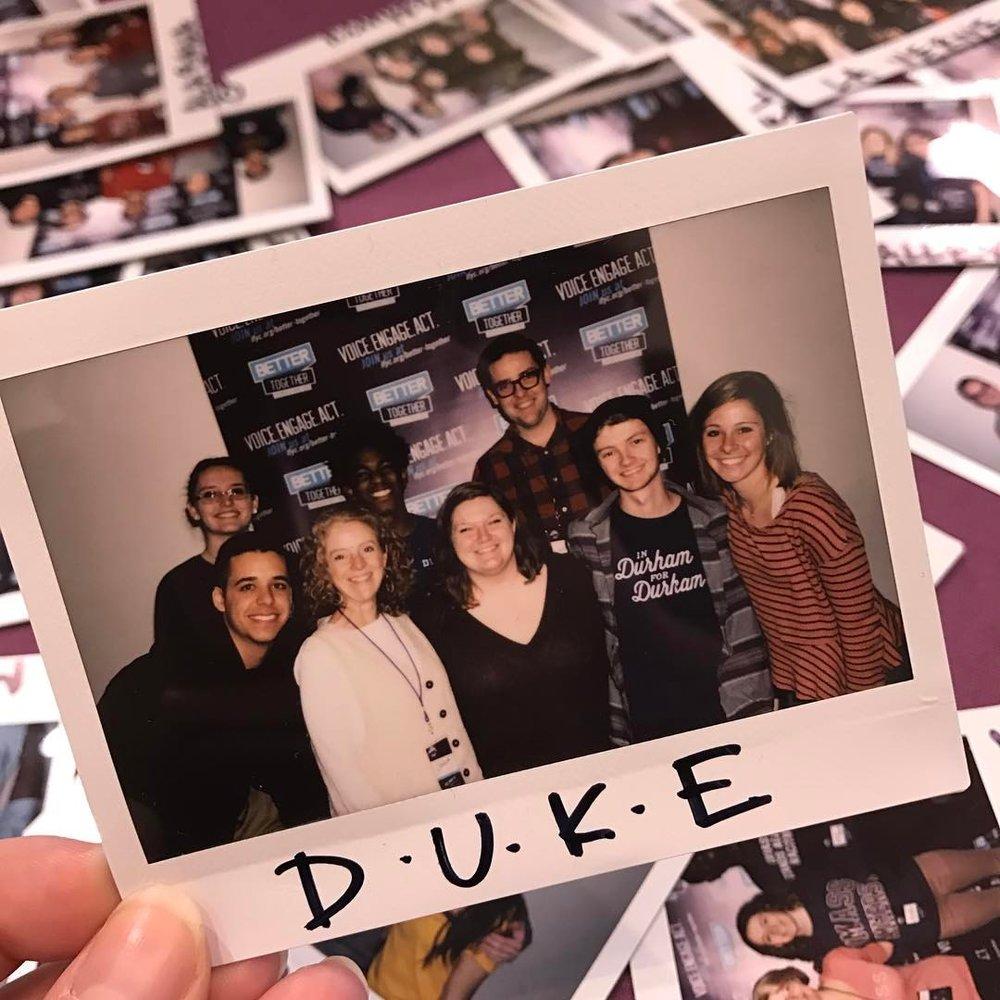 Members of the  Eruditio et Religio Living Learning Community  at Duke University