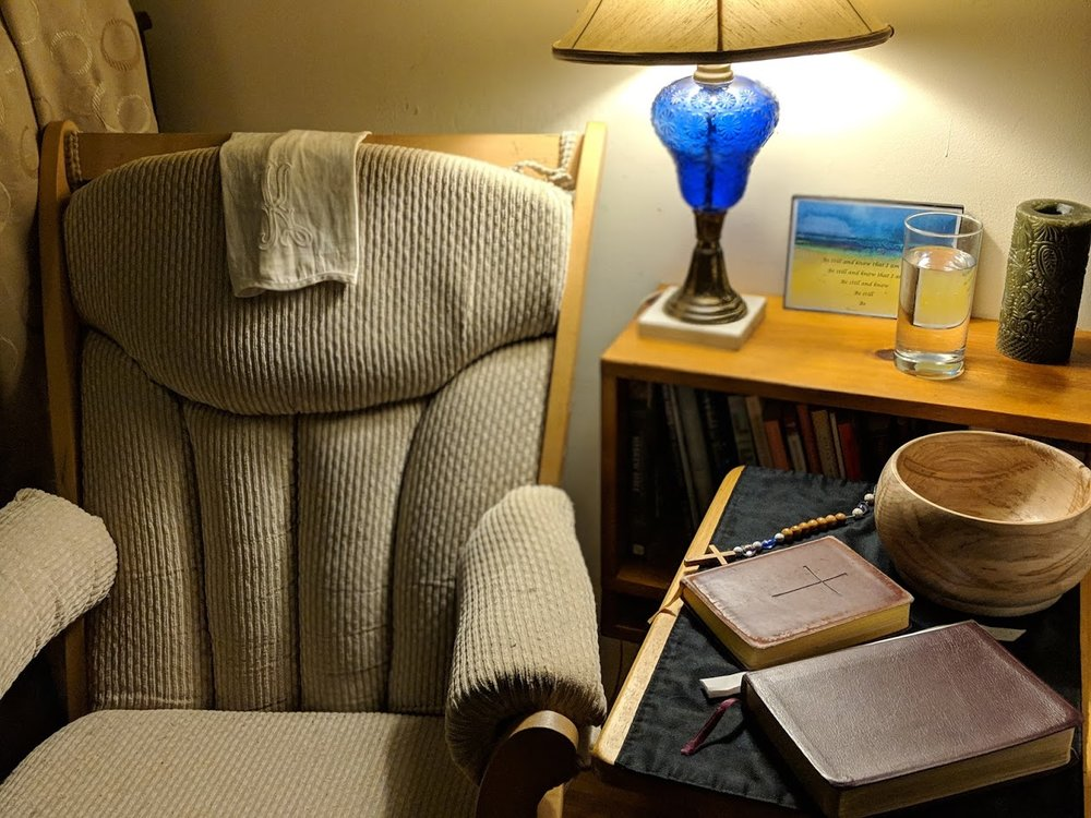 I may be physically alone as a I read the Daily Office, but I am united with countless others around the world.