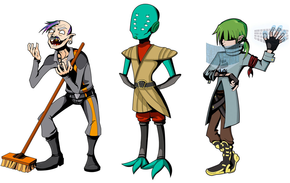 Character Design on Adobe Photoshop