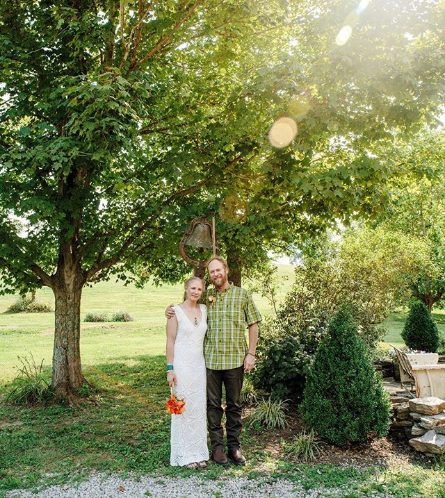 Tera + Dax's Kentucky farm wedding perfectly fit their care free and authentic spirits.